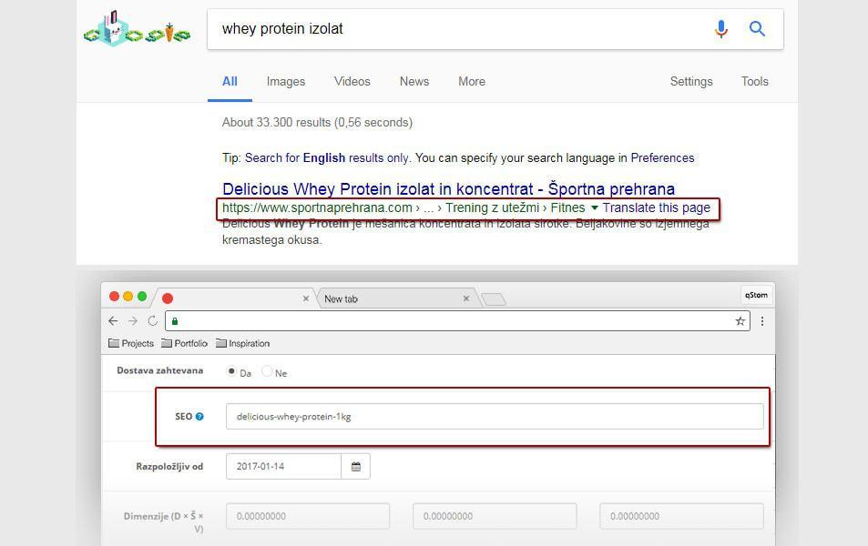 Optimizacija spletne trgovine 7