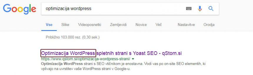 On-site SEO optimizacija 4