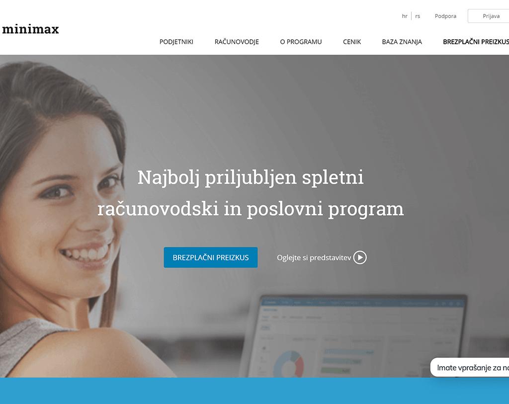 POvezava spletne trgovine z MiniMax