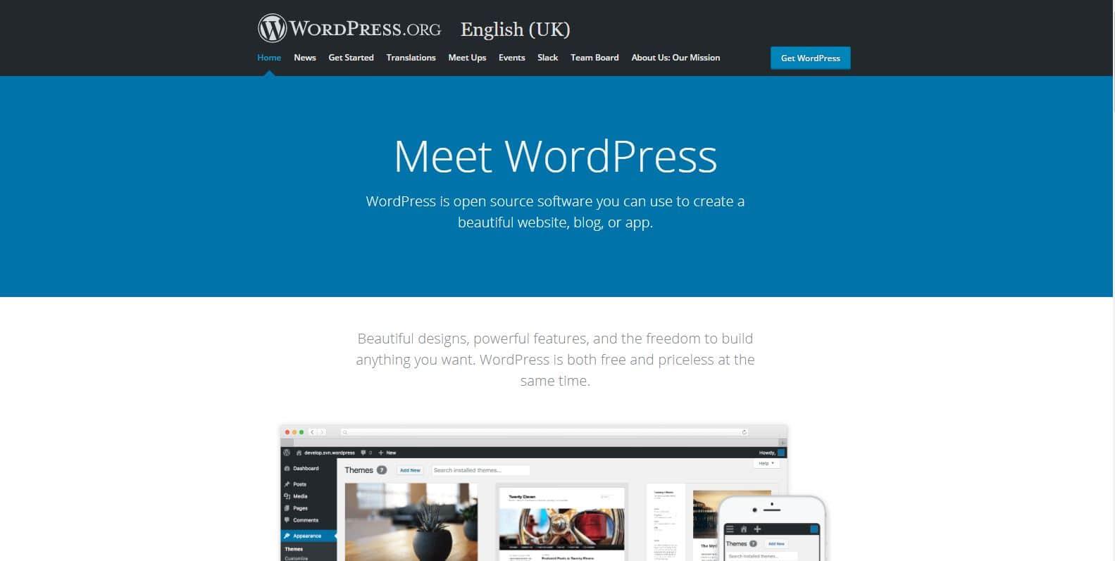 Izdelava spletne strani z Wordpress 4