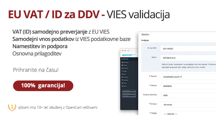 Preverjanje EU VAT - ID za DDV EU VIES